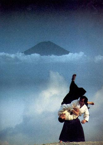 L'un des maître historique de l'art de l'aïkido...