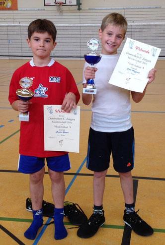 Felix Weyland ist neuer Deutscher C-Jugendmeister