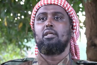 Il portavoce dei tagliagole somali, Ali Dhere
