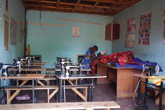 Schneiderklasse im Somero Center; © Brühl Stiftung/Somero Uganda