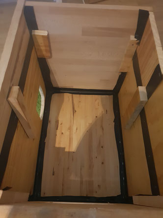 Rahmen Katzenhaus