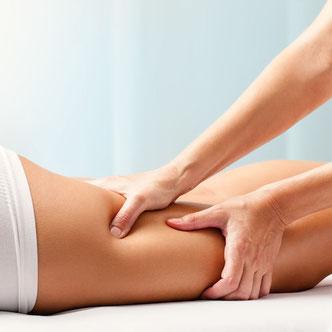 massaggio linfodrenaggio contro la cellulite