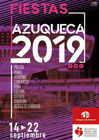 Fiestas de Azuqueca de Henares 2016 Cartel y Programa
