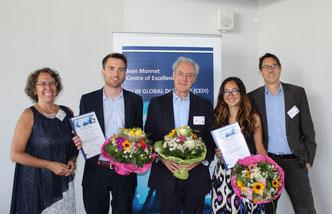 The winners of the CEDI Awards 2016 (Foto: Claus Völker)
