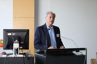 Guest lecturer Dr. Geoffrey Edwards (Foto: Laura Hähn)