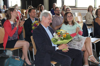 Over 40 guests from TU Darmstadt and JGU Mainz attended CEDIs second Annual Lecture (Foto: Laura Hähn)