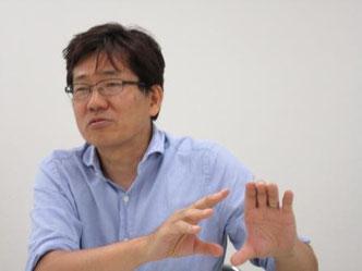 フェムトグロースキャピタルの特徴を語る磯崎さん
