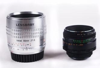 Lensbaby Velvet 56/1.6