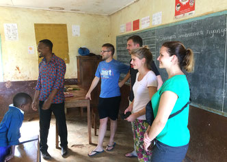 Dorfschule in Shimbwe