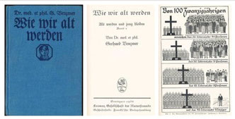 Dr. med et phil. Gerhard Venzmer, Wie wir alt werden, 1936
