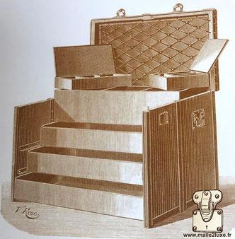 Malle à Tiroirs Louis Vuitton