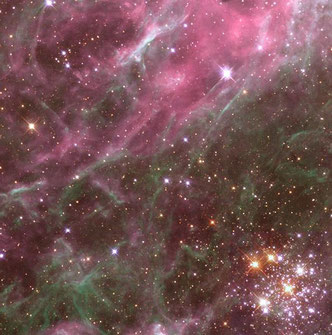 Hodge 301 in the Tarantual Nebula by Hubble Heritage