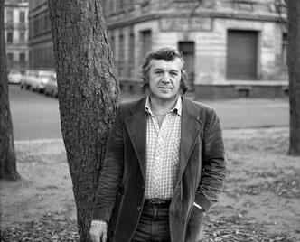 Wolfgang Hilbig, fotografiert von Dietrich Oltmanns