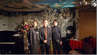 ピアニスト上里さんと米田さんと!