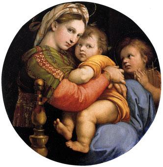 ラファエロ作「小椅子の聖母」