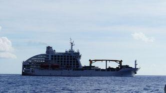 Aranui - half provisioning / half cruiseship - Marquesas