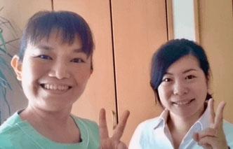 大分県大分市在住の阿南さんが頭痛が大分別府頭痛専門ここまろ調整院の施術で頭痛が治った体験談を聞かせてくれました。阿南さんの笑顔素敵ですね。
