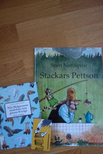 Schwedische Bücher gibt es in der Stadtbibliothek