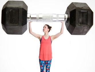Fitness-Redakteurin Juliane Hemmerling