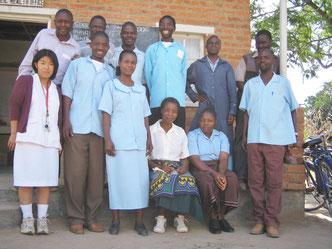 アフリカのマラウィで2年ご活躍されました