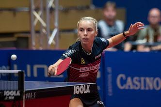 Linda Bergström Tischtennisspielerin  A-Team LINZ AG Froschberg