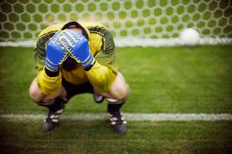 Sport, Fußball, Trainingsweltmeister, Training, Niederlage, Unsicherheit, Ärger, Wut
