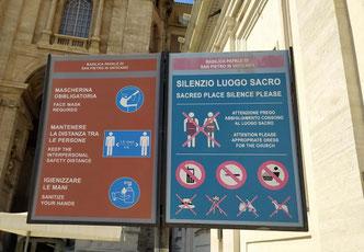 Правила посещения Ватикана, фото