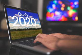 Wie Du Deine Goals - Ziele zum neuen Jahr 2020 einhältst