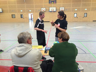 Bild: Handball Freiwurf Hamburg-Liga in Rahlsteht beim AMTV