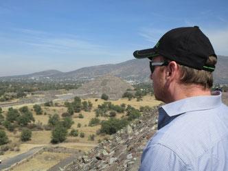 Harald Reiter, der Gebäudedoktor,  auf den Spuren der alten Baumeister im Hochland von Mexiko.