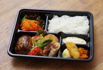 写真は2,000円のお弁当です。