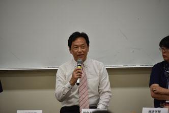 あいおいニッセイ同和損害保険経営企画部の倉田秀道氏