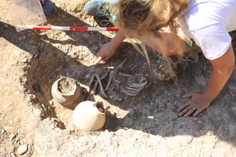 Ausgrabung für Freiwillige - Hobby Archäologie - Aktivurlaub AUsgrabung