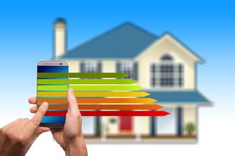 Smart Home Technik zur Reduzierung der Energiekosten  - Eigenheim, Planung, Haustechnik, Energie, Smart Home, Betriebskosten, WLAN, Cyberkriminalität, Smarthome - Deutschland - Niedersachsen - Schleswig Holstein - Hessen