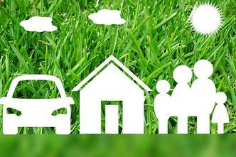 Durch Umschulden mehr Geld - Kreditvertrag - Hausbau - Baufinanzierung, Umschuldung, Tilkung, Bank, Hypothek, Notar, Fertighaus, Leitzins