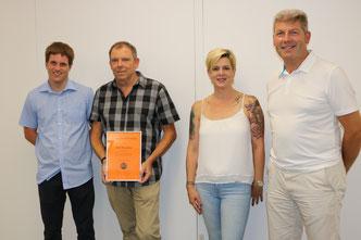Die Vorstandsmitglieder mit Martin Mumenthaler