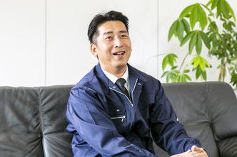 北九州支店支店長 兼 新門司営業所所長  立石光孝さん