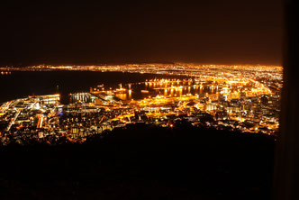 Capetown at night!