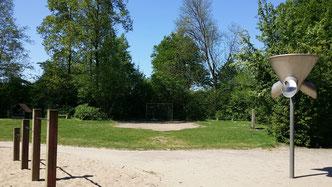 Die Bäume und ein Teil der Wiese könnten gerettet werden.