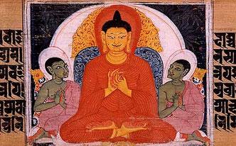 Будда учит учеников