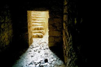 unter der Burg Kerak