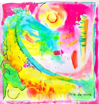atelier de peinture intuitive, severine saint-maurice, lescerclesdelumiere.com