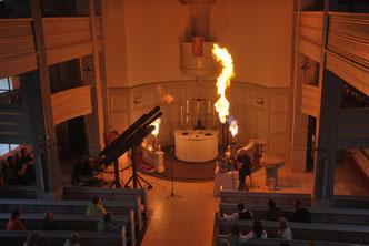pyrophoniker kulturgottesdienst feuer