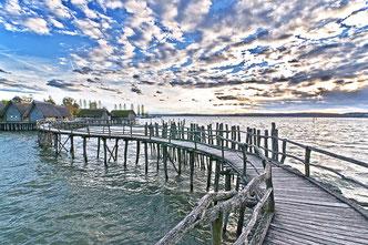 Platz 6 - Die Pfahlbauten am Bodensee