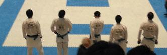 2回戦メンバー宮崎、豊田、葛西、林田、徳丸