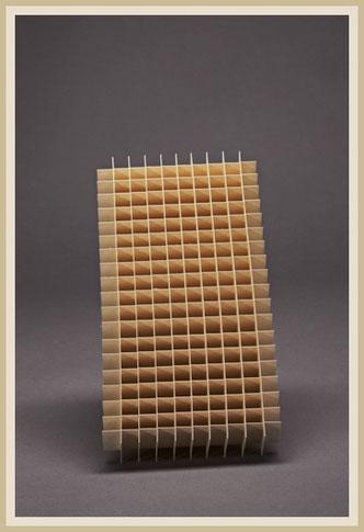 Gefache für 10x20 Proben aus Holzpappe