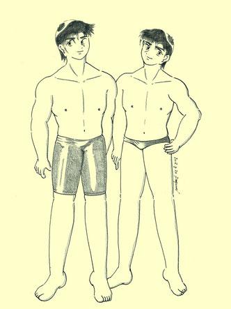 健太郎と龍