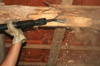 Procédé de buchage de bois