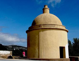 historischer Wachpavillion