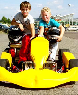 Erik Sommer und Kilian Bo Siegmeyer sind unsere Rennfahrer von Morgen.